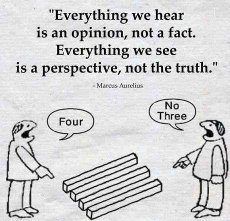 Hear fact see perspective