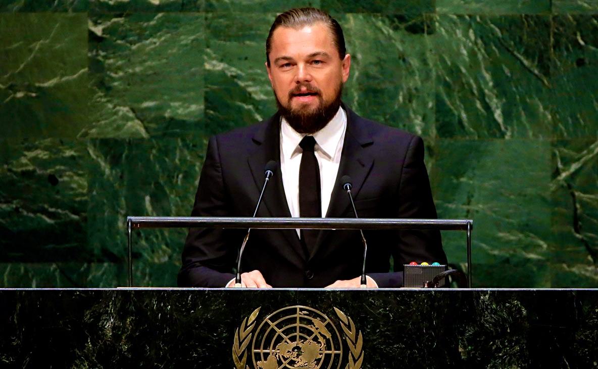 Leonardo DiCaprio's UNspeech