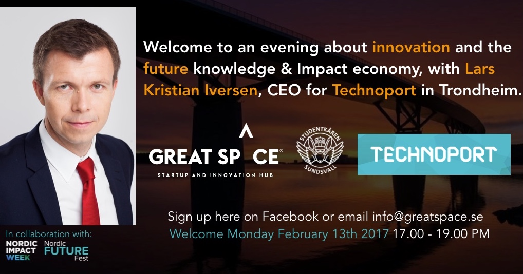 evening-with-lars-kristian-iversen-ceo-technoport-at-great-space